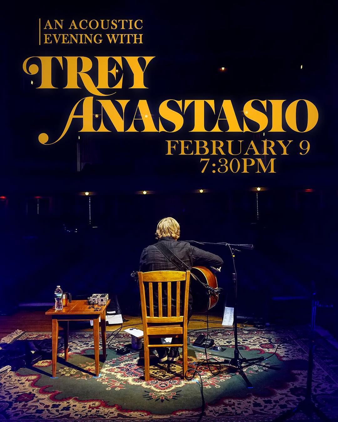 JUST ANNOUNCED dspshows Presents treyanastasio  Friday Feb 9 athellip