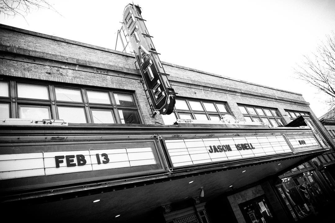 jasonisbell made it to ithaca! Whos in? Show starts athellip