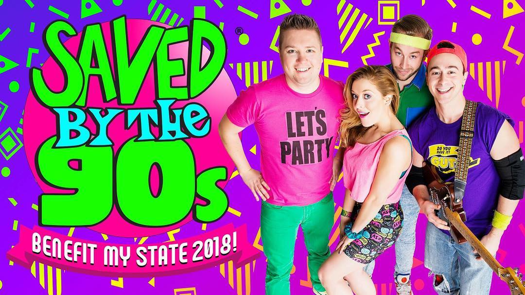 JUST ANNOUNCED  Benefit My State 2018 featuring savedbythe90s! Aprilhellip